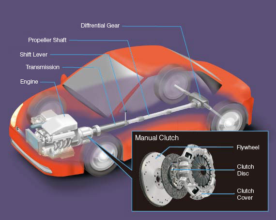 function of the clutch